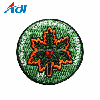 Eco Friendly Custom Embroidered Brand Patches For Clothing