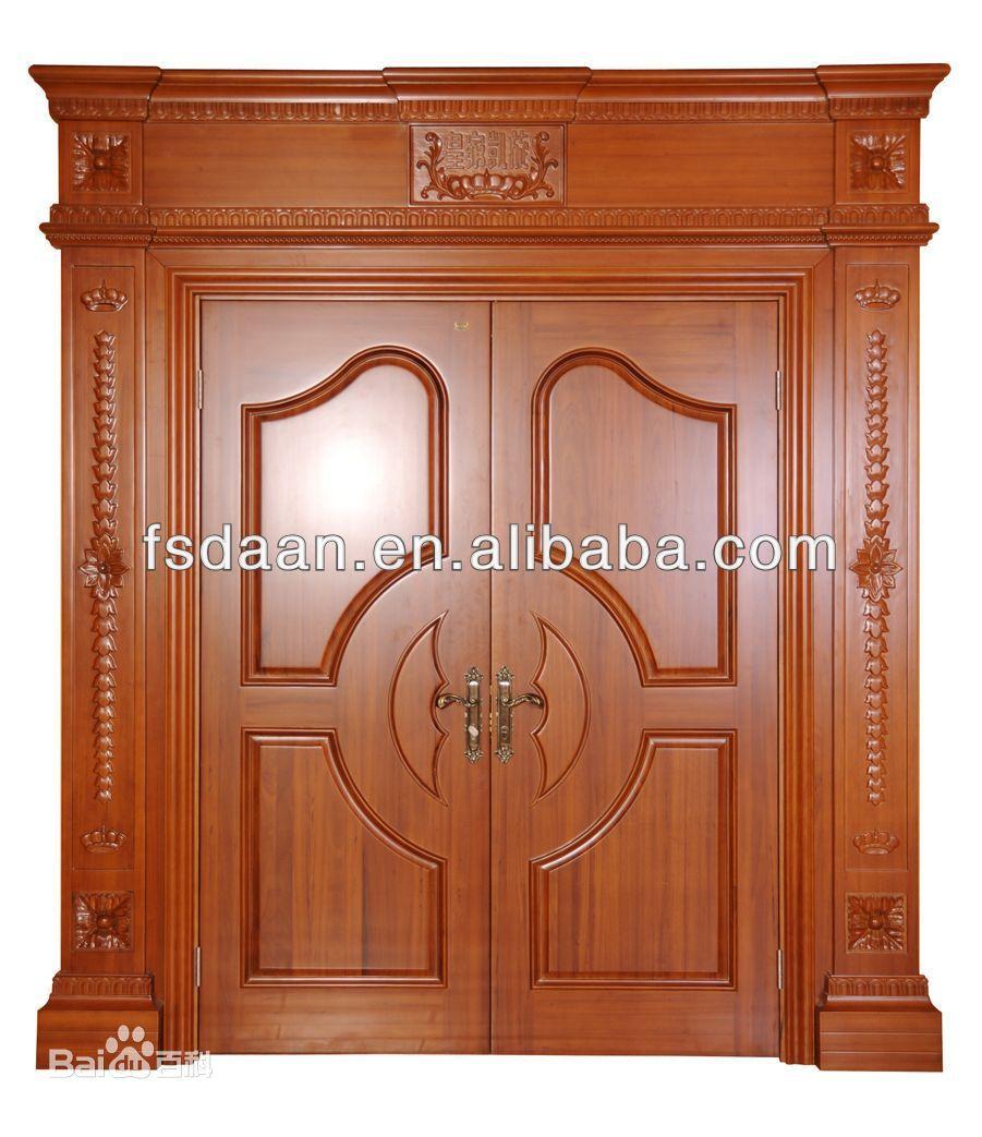 Wooden front double door designs