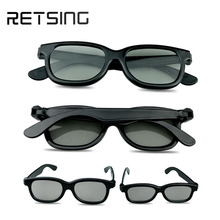 3D cinema use circular/linear polarized glasses
