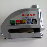 Top Brand New motorcycle disc bicycle alarm lock