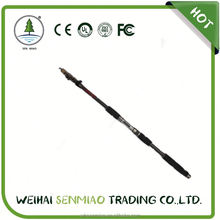 High quality 6+1 chinese guide 0.153kg weight telescopic fishing rod with low price