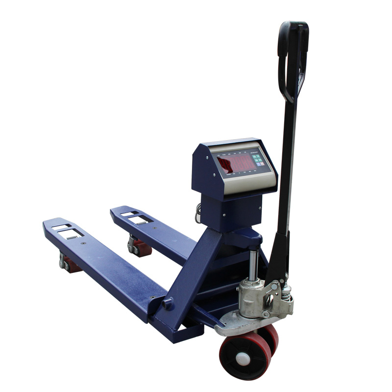 Electronic Hydraulic Hand Printing Truck Pallet Jack Scale