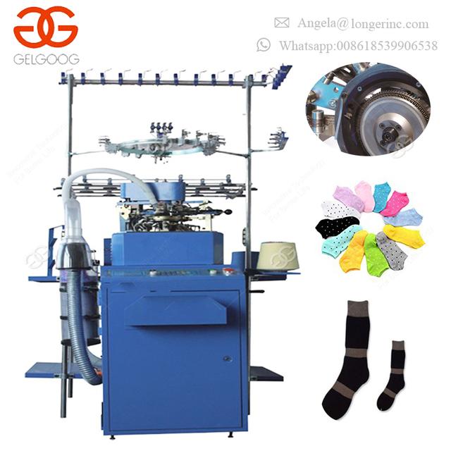 Industrial Price Computerized Needles Korea Socks Knitting Maker Equipment Automatic Socks Making Machine for Sale