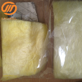 Glass wool blanket with alu foil