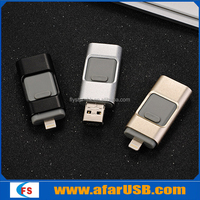 New products iflash usb flash drive mobile phone custom otg usb flash drive for iphone 5/5s /6/6s ios
