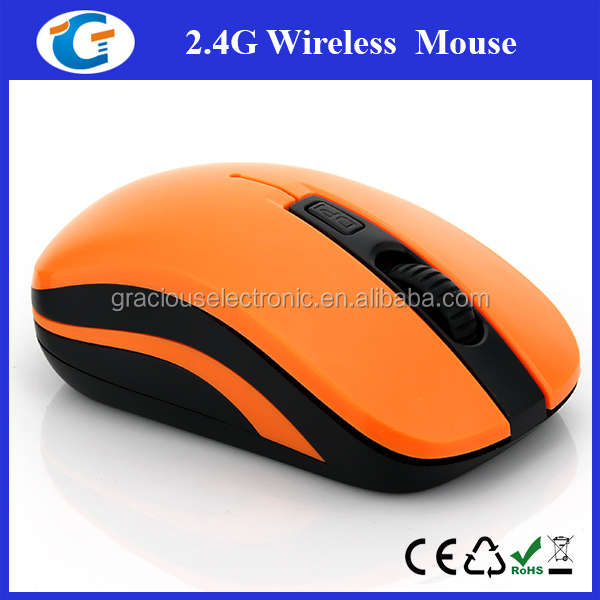 Comfort Grip Top Case 2.4Ghz RoHS Wireless Mouse