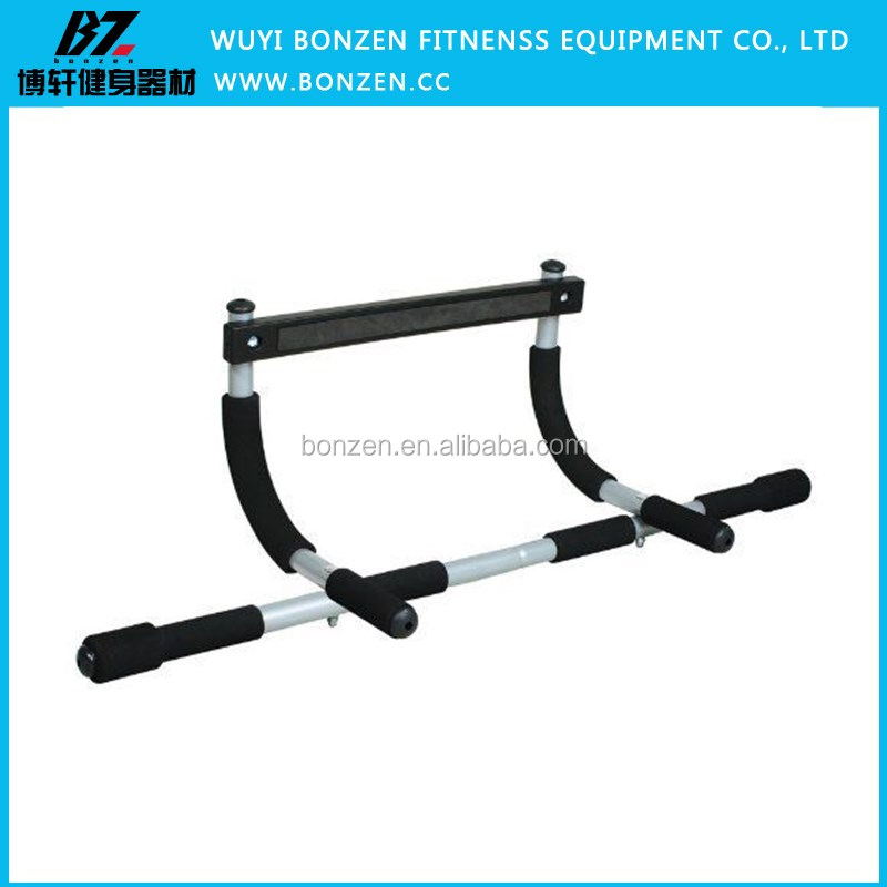 Portable Door Gym Iron Chin Up or Pull Up Bar Indoor Fitness Equipment