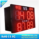led score board display \24 inch scoreboard sign \ outdoor led display signs