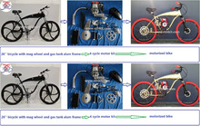 4 stroke petrol Bike/NTNKIT 2 cycle kit/motorized bike