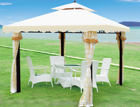 Luxury Strong Garden Patio Used Metal Frame 3*3m gazebo
