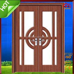 Office China Cheap interior bedroom wooden mdf pvc door picture