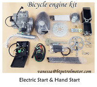 CE Certificate Bicycle Motor Kits/Pedal Bike Engine /100cc bicycle engine kit for motor bike
