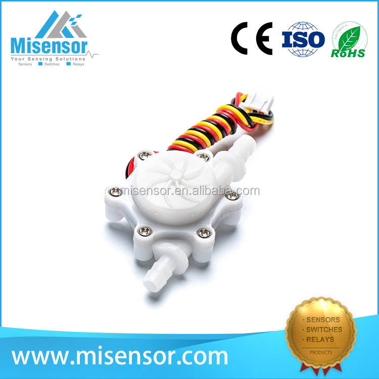 Misensor reed flow sensor better than hall flow sensor