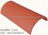 color lasting decorative barrel roofing tiles price spanish tile