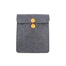 Wool felt 7 inch tablet case for wholesale