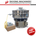 DYC1000-1S ultrasonic vibrating sifter for resin powder factory sieving