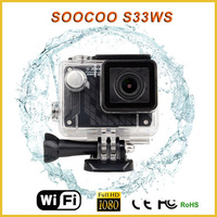 S33WS full hd 1080P wide angle lens digital waterproof camera dvr motorcycle