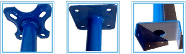 Q235 Types Concrete Formwork Support Push Pull Acrow Prop
