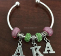 65MM 70MM Size AKA Pink Green Bangle Bracelet