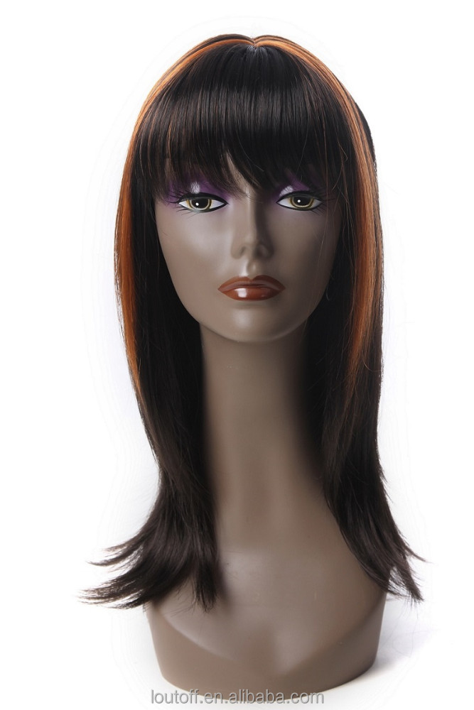 Mannequin Dummy Realistic Plastic Female Mannequin Head For Wig Sunglass Scarf Jewelry Hat Display