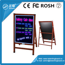 Best quality wholesale stand independently digital writing board led writing tablet led advertising light panel for coffee shops
