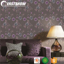 Deep embossed PVC 1.06m wallpapers with cheap price SO106506