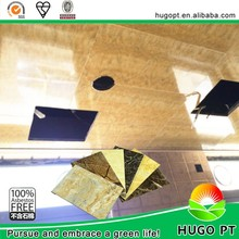 Non combustibility materials used for false ceiling interior wall paneling UV treatment