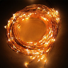 3 AA Battery Operated Invisible Copper Wire Mini Led Starry String Lights