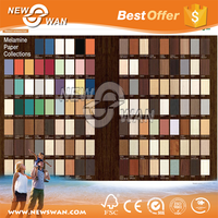 Green Blue Yellow Coffee Colors Melamine MDF Board