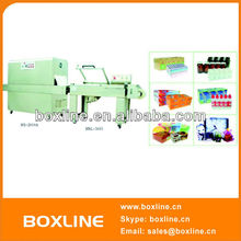 Semi-auto shrink packager