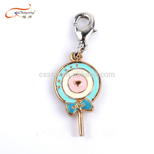 Fashionable jewelry zinc alloy charms