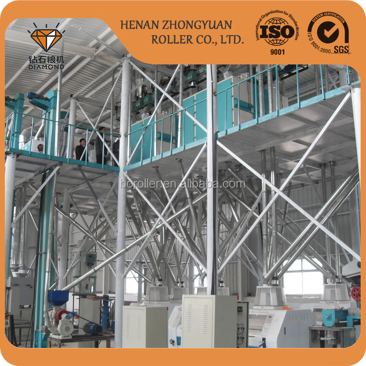 Best price cereal flour mill processing machine barley flour processing line