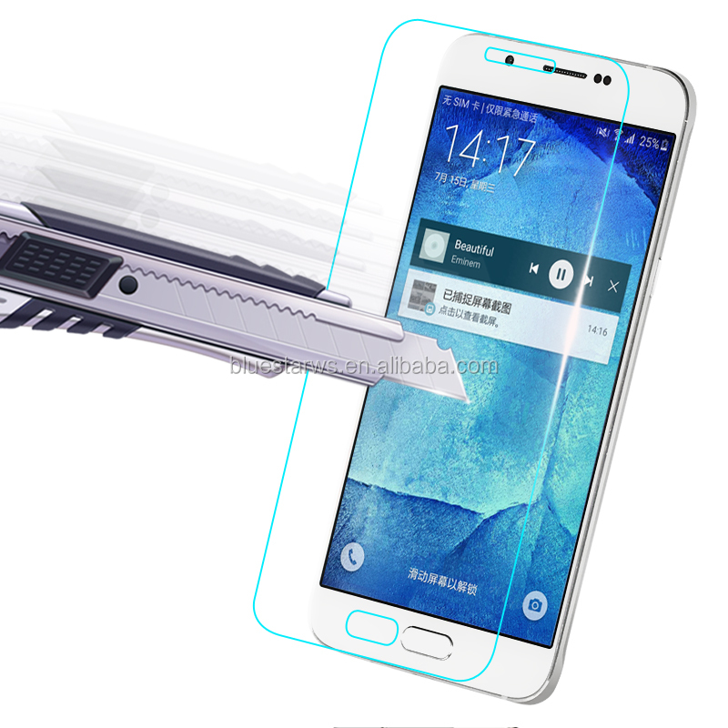 9H 2.5D 0.33mm mobile phone tempered glass screen protector for Samsung S8