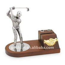 shaking hand metal golf men set