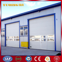 YQID0006 aluminum heat sink extrusion aluminum/steel rolling up door/roller shutter factory price in Jiangsu
