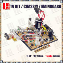 CRT sanyo tv mainboard with La76931 IC