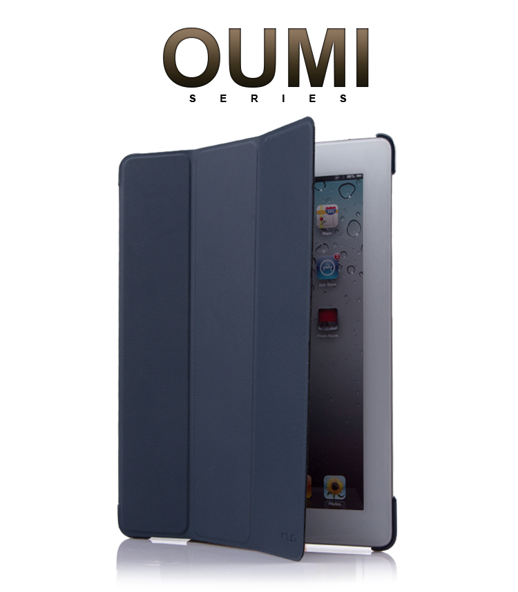 Wholesale high quality Kalaideng OUMI Series leather case for ipad 2/3/4