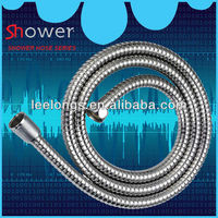 Stainless steel double locked flexible shower pipe