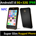 2018 5 inch NFC rugged handheld android7.0 3G+32G slim rugged phone 4G 5M+13M Camera NFC reader NFC phonefor cashless payment