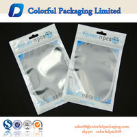 Custom printed cell phone case packaging bags