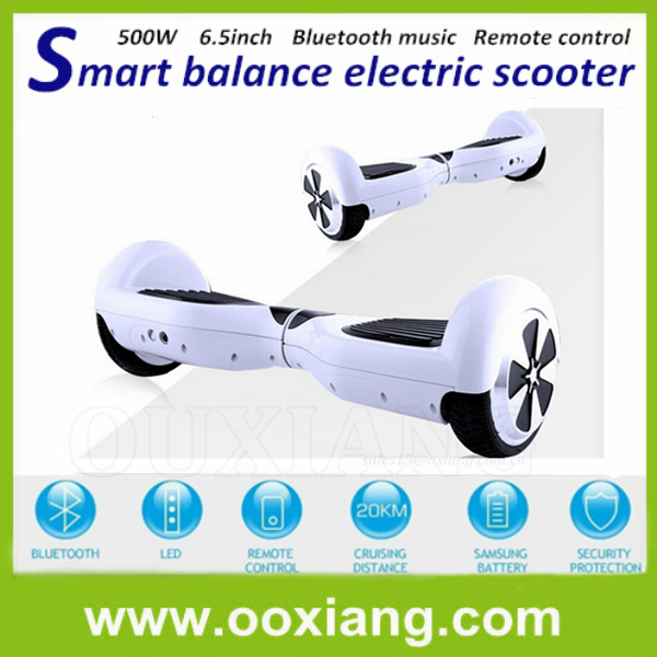 New Electric Smart skateboard two motors electric balance scooter bike for Travel 5 Colors Fastest Ship