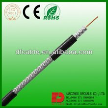 TV CABLE RG6 DIGITALE COAX KABEL ISO9002 CE ROHS Coaxial cable