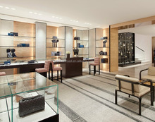 Boutique luxury jewelry bag store furniture design