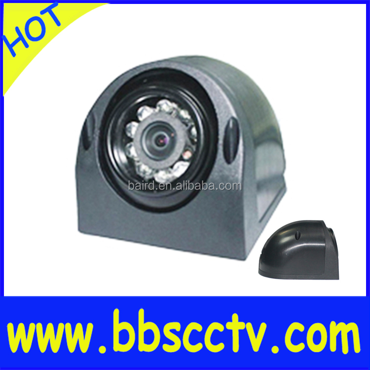 security 600tvl sony ccd night vision car camera side mount AV connector and park line