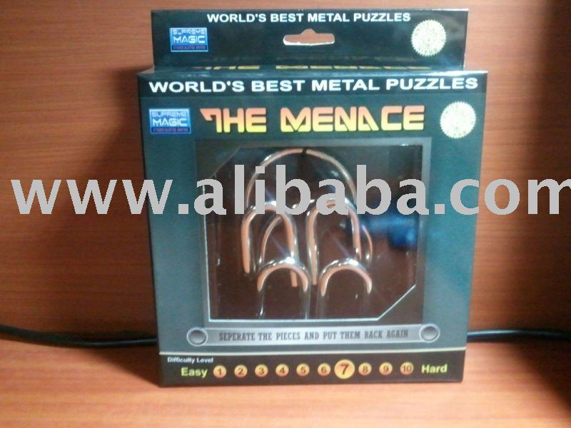 metal and wood puzzles
