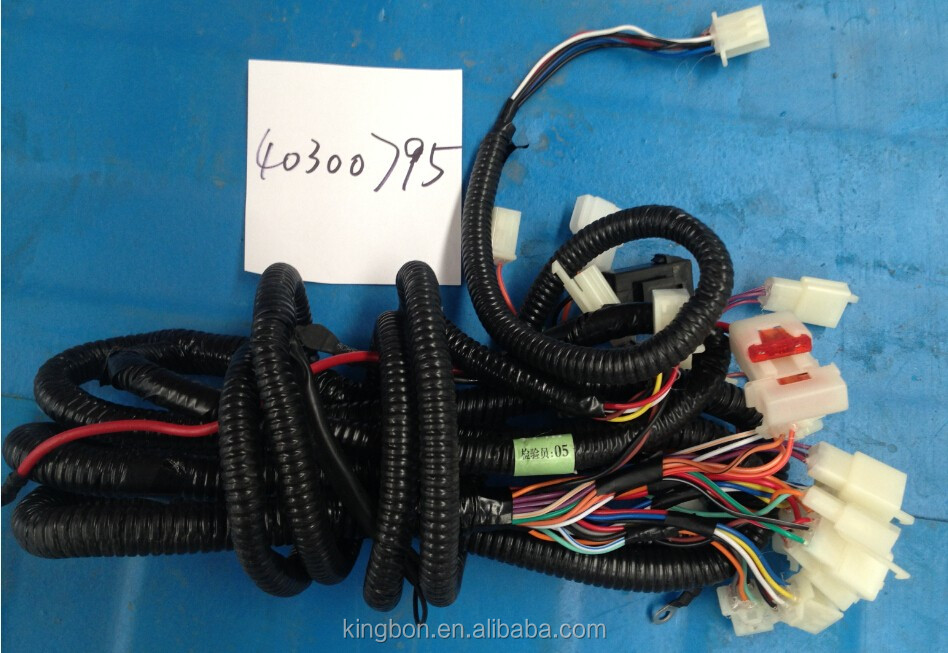 electric rickshaw spare parts main wiring harness
