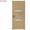 High Quality solid wooden doors with glass