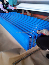 colorful galvanized metal roof tile