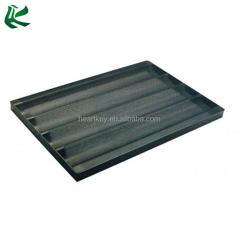 Non Stick Coating French Baguette Baking Tray