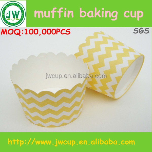 Custom printed disposable paper muffin cups /Cupcake paper baking cups wholesale